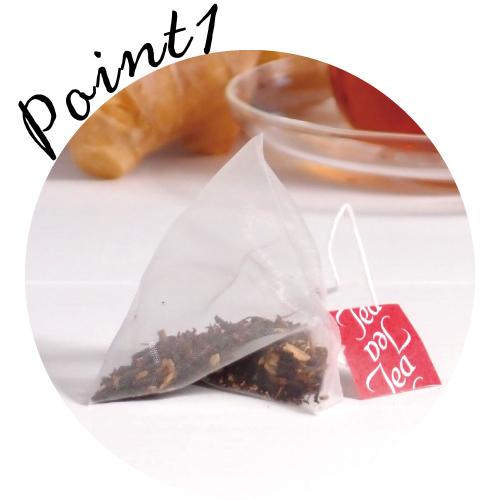 生姜紅茶テトラティーパック
